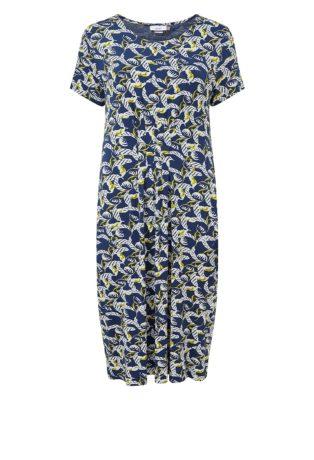 Adini Lara Print Addie Dress – Blue