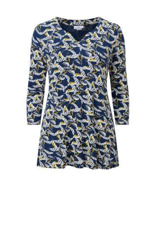 Adini Lara Print Cami Tunic – Blue