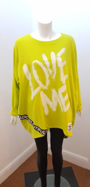 Diverse – Love Me Sweat – Lime One Size