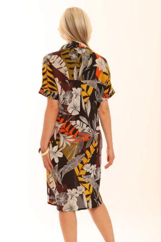 Pomodoro Safari Shirt Dress