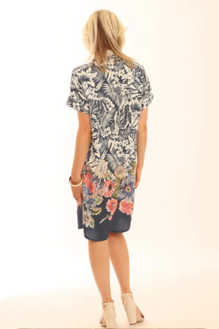 Pomodoro Watercolour Shirt Dress – Denimn