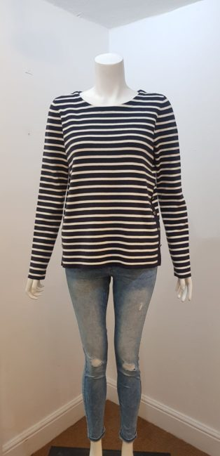 Vero Moda – Sailor Stripe Knit – Navy & Cream