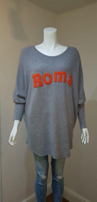 """Laetitia Mem """"Roma"""" Knit – Grey"""