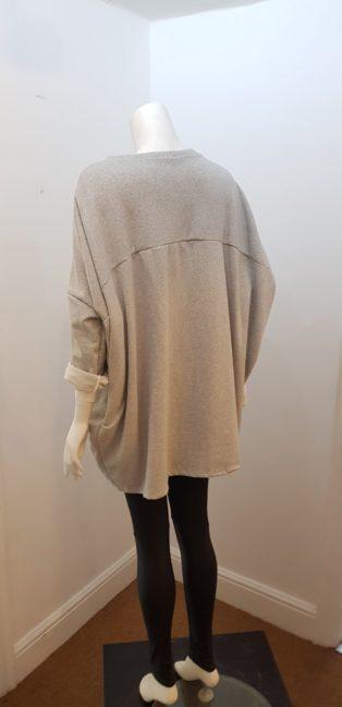 Diverse- Sloppy Joe Batik Motif Sweatshirt – Grey