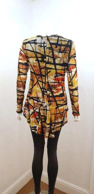 Stella Morgan – Fitted Tunic – Orange multi