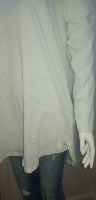 Eb & Ive – Kistler Long Sleeve T.Shirt – White