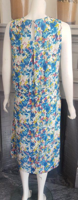 Adini – Shannon Dress – Turquoise Print