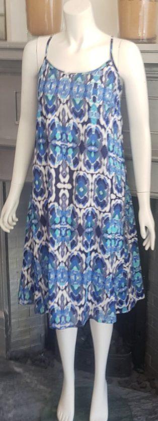 Adini – Pacific Dress – Tropical Blue
