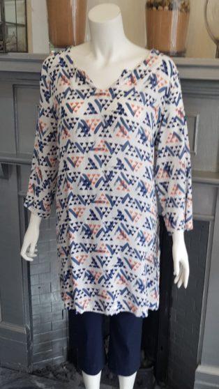 Capri – Tunic / Dress – Coral