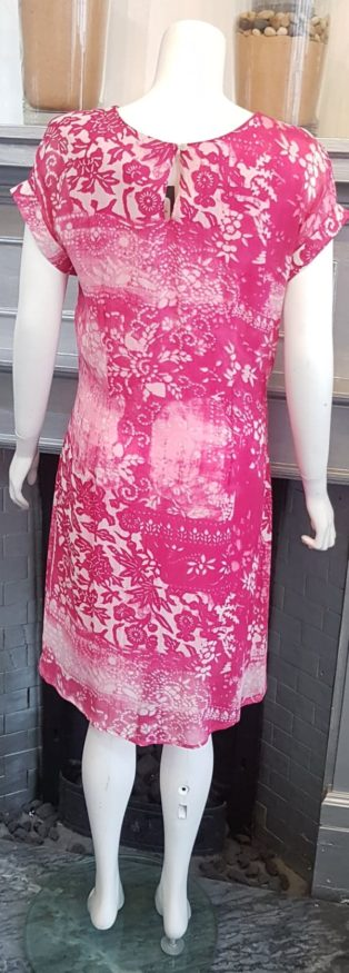 Pomodoro – Batik Patchwork Dress – Pink