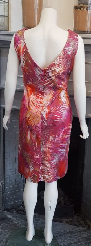 Pomodoro – Dress – Pinks, Lilacs, & Oranges