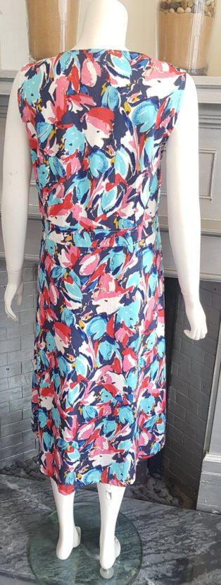 Adini – Layla Dress – Tropical Print Turquoise