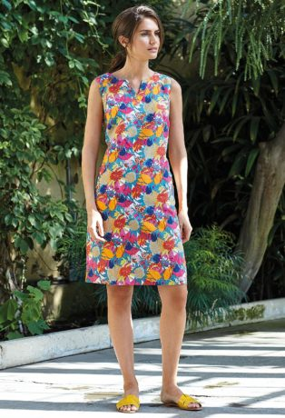 Adini Tortuga Print Alex Dress – Rainforest