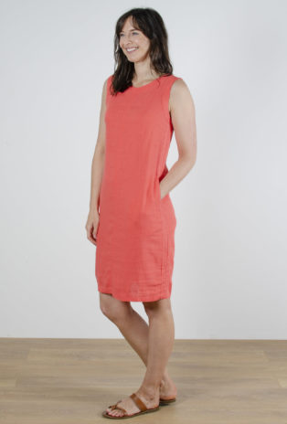Sleeveless Shift Dress – Paradise Pink – (Duplicate Imported from WooCommerce)