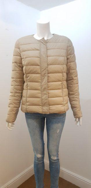 Vero Moda – Soraya Zip Short Jacket – Silver Mink