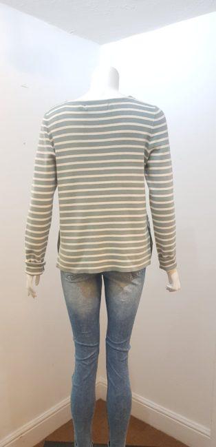 Vero Moda –  Sailor Stripe Knit – Slate & Cream