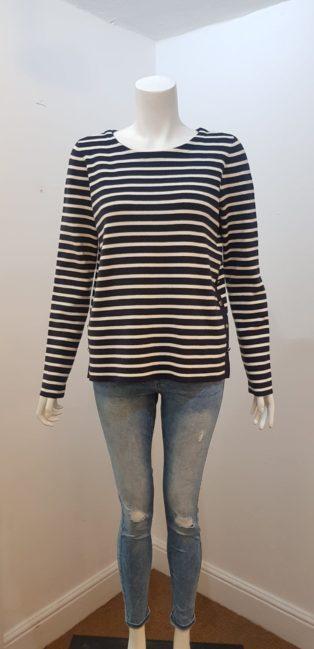 Vero Moda – Sailor Stripe Knit – Navy & Cream