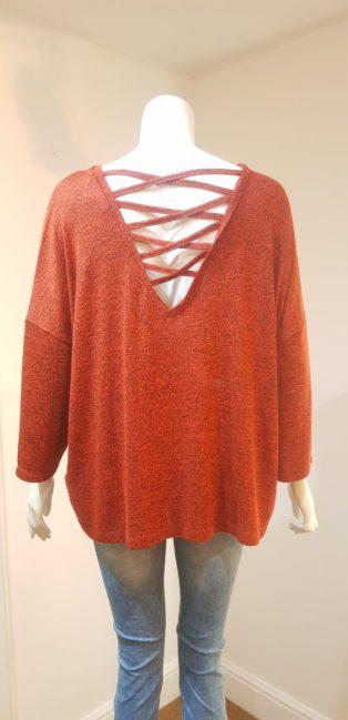 Vero Moda -Brianna Oversize Knit – Red