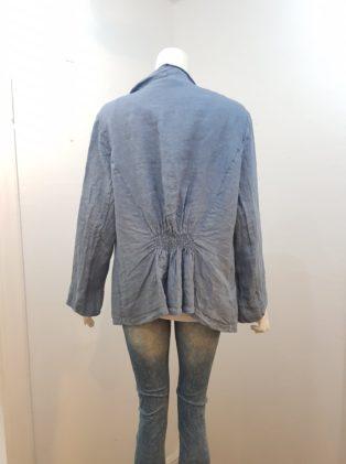 Diverse – Linen Waterfall Jacket – Delph Blue