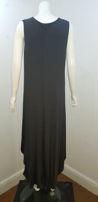 Cover-Up – Long Midi Dress – Charcoal