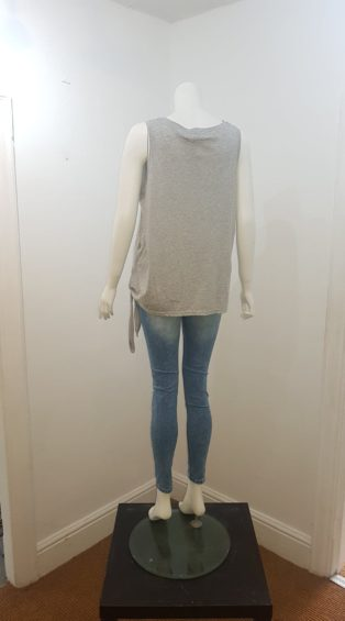 Eb & Ive – Estrella Tank T.Shirt – Grey Marl