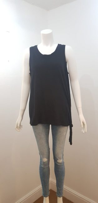 Eb & Ive – Estrella Tank T.Shirt – Black