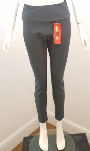 Spanx – Woven Twill Jeggings/Leggings- Asphalt