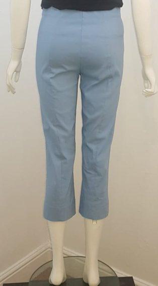 Pomodoro – Bengalin Crop Trouser – Chambrey Blue