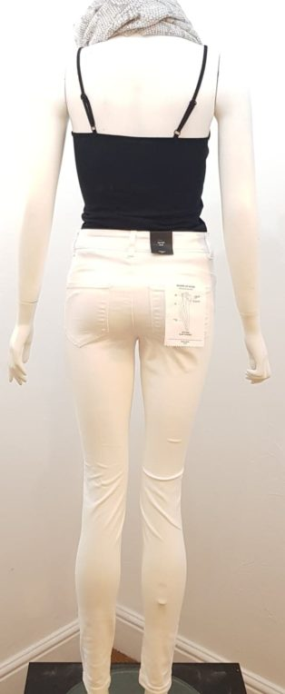 Vero Moda – Seven Shape Up Jeans – Bright White – Leg 32″