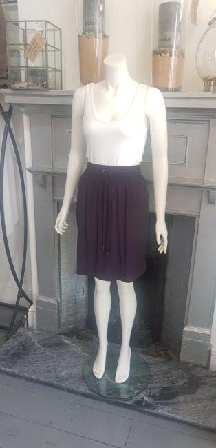 Saint Tropez – Drawstring Skirt – Navy