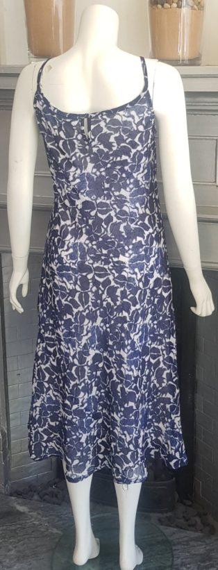 Adini – Thea Dress – Navy & White