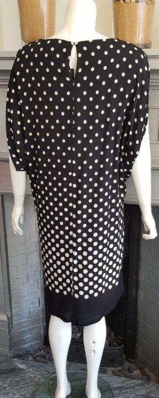 Pomodoro – Graduated Spot Dress – Black & White