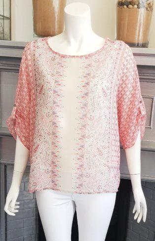 Soya Concept – Sanne Blouse – Pink Print
