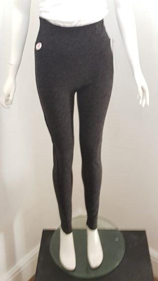 Spanx – High Waisted Leggings – Black Marl