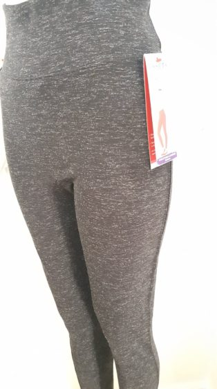 Spanx – High Waisted Leggings – Black Marl