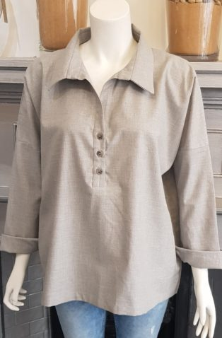 Jan N June – Tunic – Light Grey