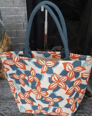 Lily & Me – Jute Bag – Flower Print