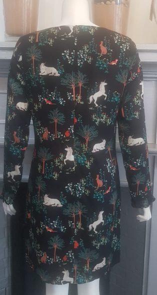 Sugarhill Boutique- Brianna Tunic Dress – Black Print