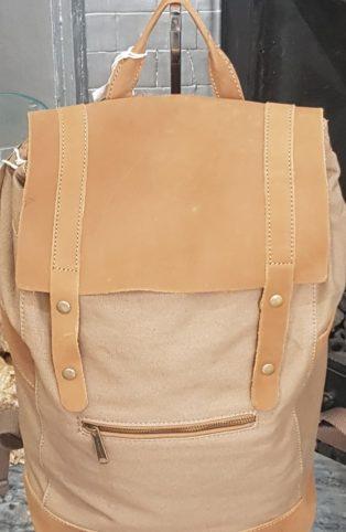Forbes & Lewis – Rider Backpack – Khaki Grey