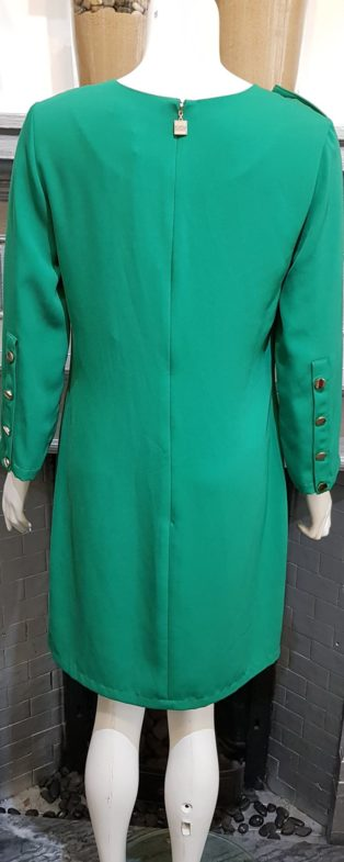 Sylvian Heach – Shift Dress – Emerald Green