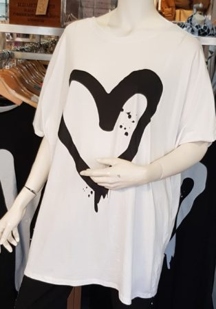 Lux Luna Love New York T.Shirt – White