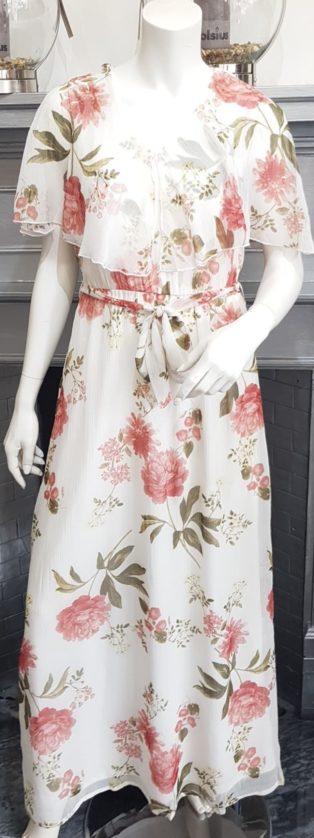 Vero Moda –  Lucca Frill Maxi Dress – Birch