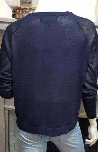 Vero Moda VMLINA LS O-NECK BLOUSE BOO REP Navy Blazer