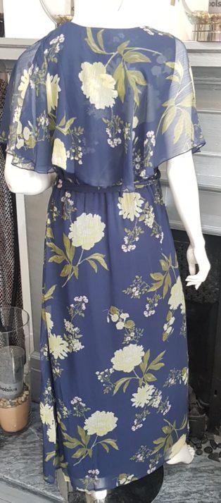Vero Moda – Lucca Frill Maxi Dress – Night Sky