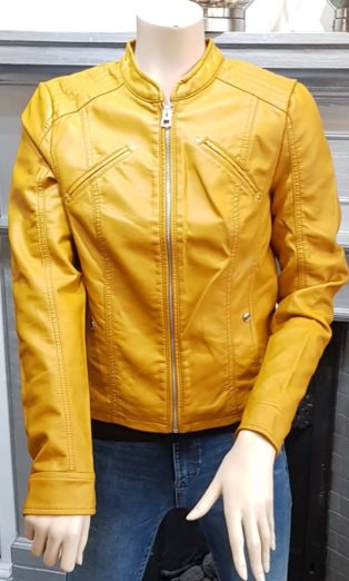 Vero Moda – Favodona Jacket – Buckthorn Brown
