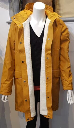 Vero Moda VMASTA 3/4 TEDDY COATED JACKET BOOS Buckthorn Brown