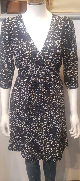 Vero Moda – Britt Short Wrap Dress/Tunic –  Navy Blazer