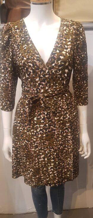 Vero Moda – Britt Short Wrap Dress/Tunic – Fir Green
