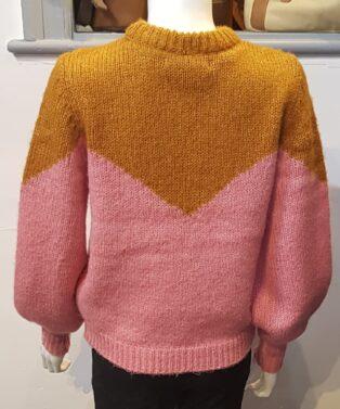 Vero Moda – Winnie – Block – Jumper – Buckthorn – Brown