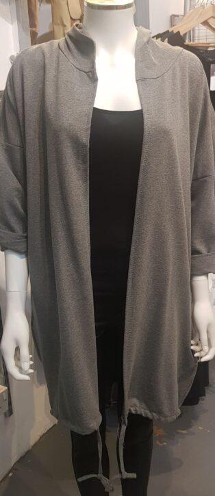 Diverse – Delia Hooded Jacket – Grey